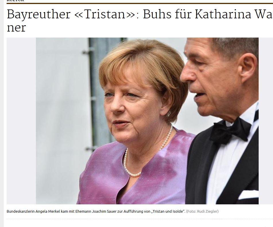 Schwäbische - Angela Merkel