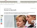 Der Tagesspiegel - Angela Merkel